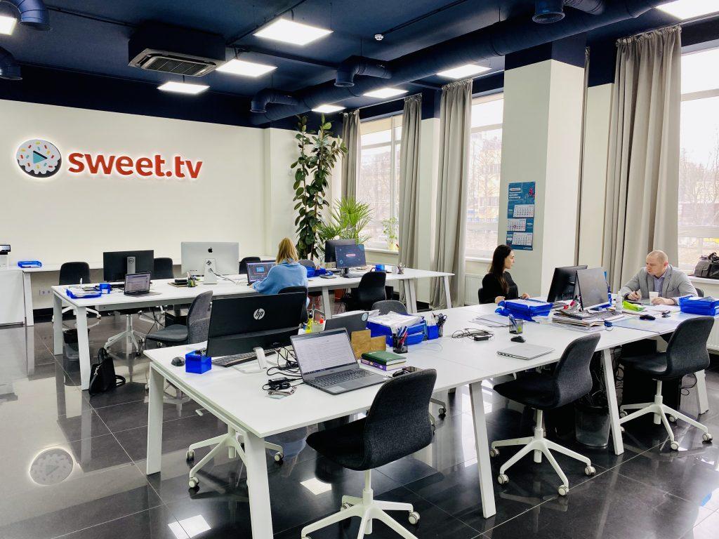Офис SWEET.TV, иллюстрация