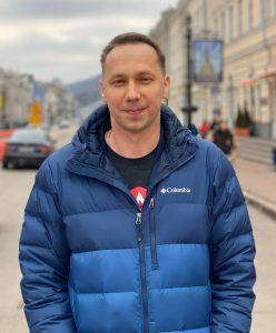 Delivery Management Director в EPAM Systems Максим Овсяников, фото из Facebook