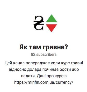 Telegram-бот для мониторинга курса гривны к доллару Follow-uah