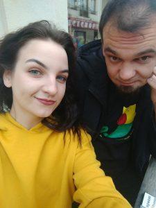 Дмитрий и Татьяна - фаундеры приложения No Grab