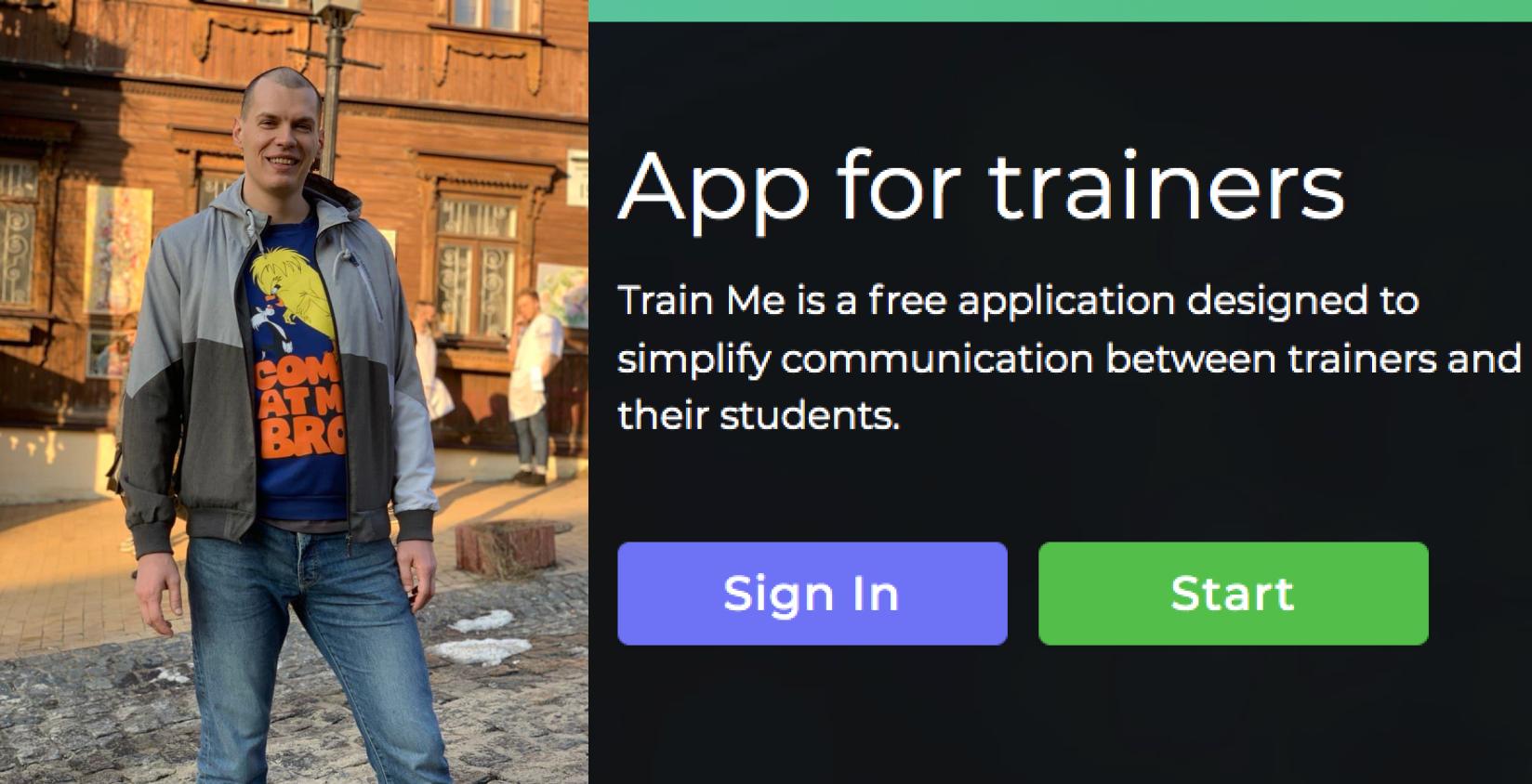 Надоели онлайн-тренировки в мессенджере, и я написал свое удобное приложение — оно пока бесплатно