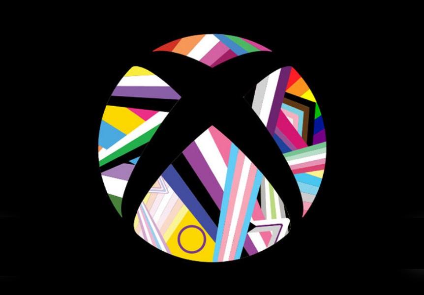 Pride-лого Xbox