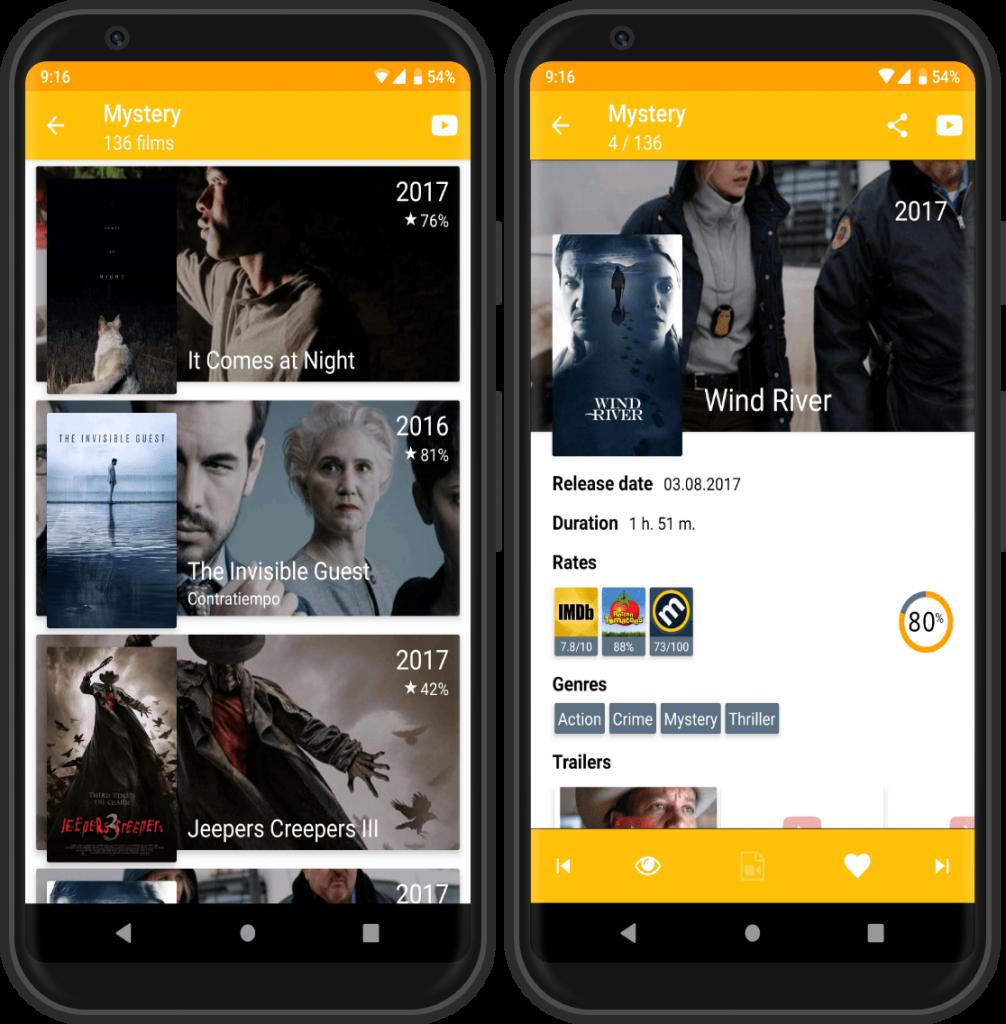 Мобильное приложение What to Watch
