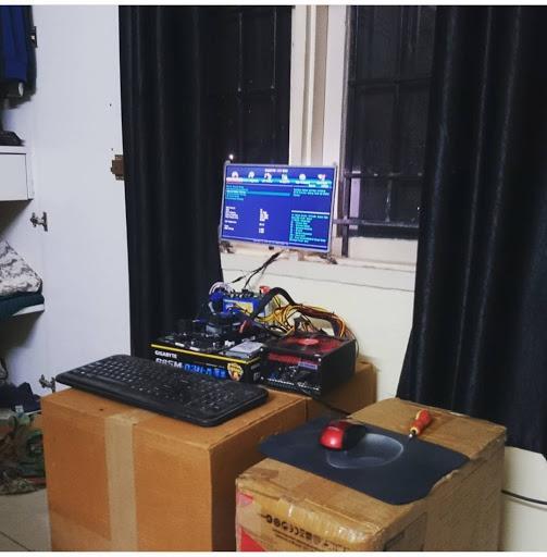 Самодельная установка из подручных материалов для разработки