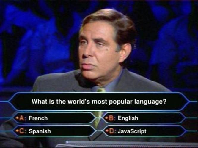 Мем о JavaScript