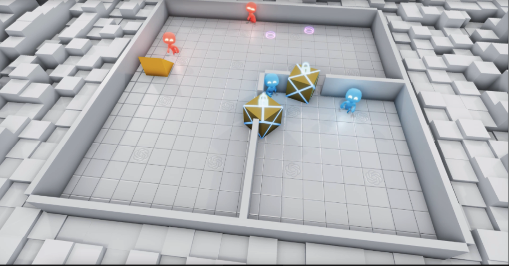Миллионы повторений — и ИИ научился использовать законы физике в игре /