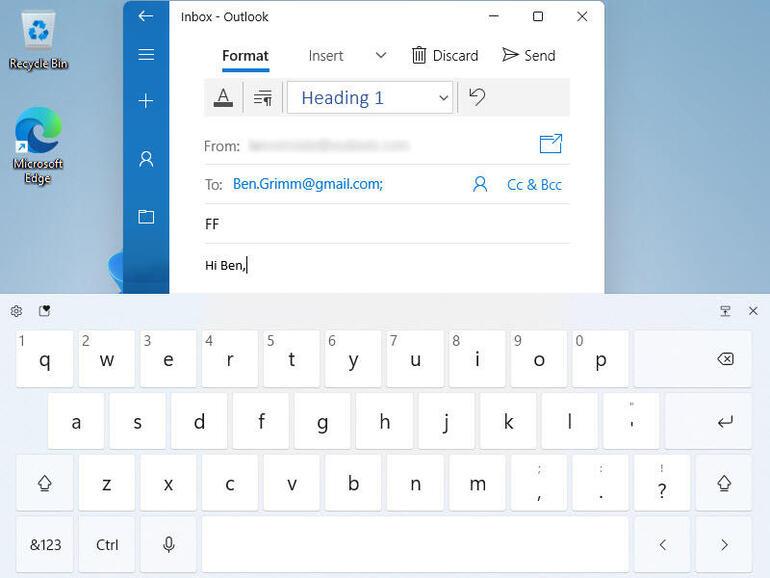 Обновленная «Сенсорная клавиатура»