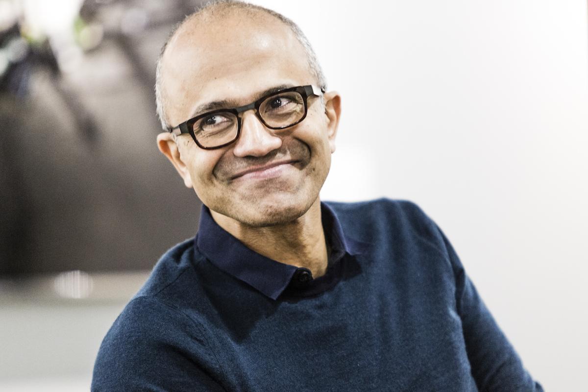 Сатья Наделла, генеральный директор Microsoft / microsoft.com