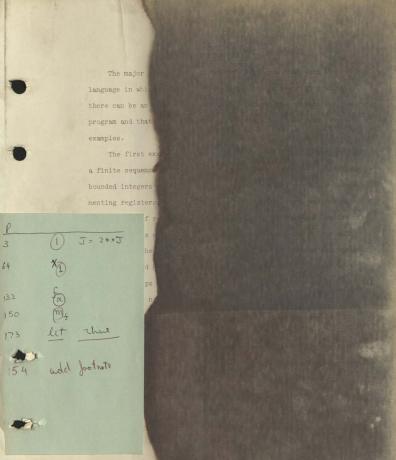 Первая страница копии диссертации Денниса Ритчи Источник: Музей компьютерной истории