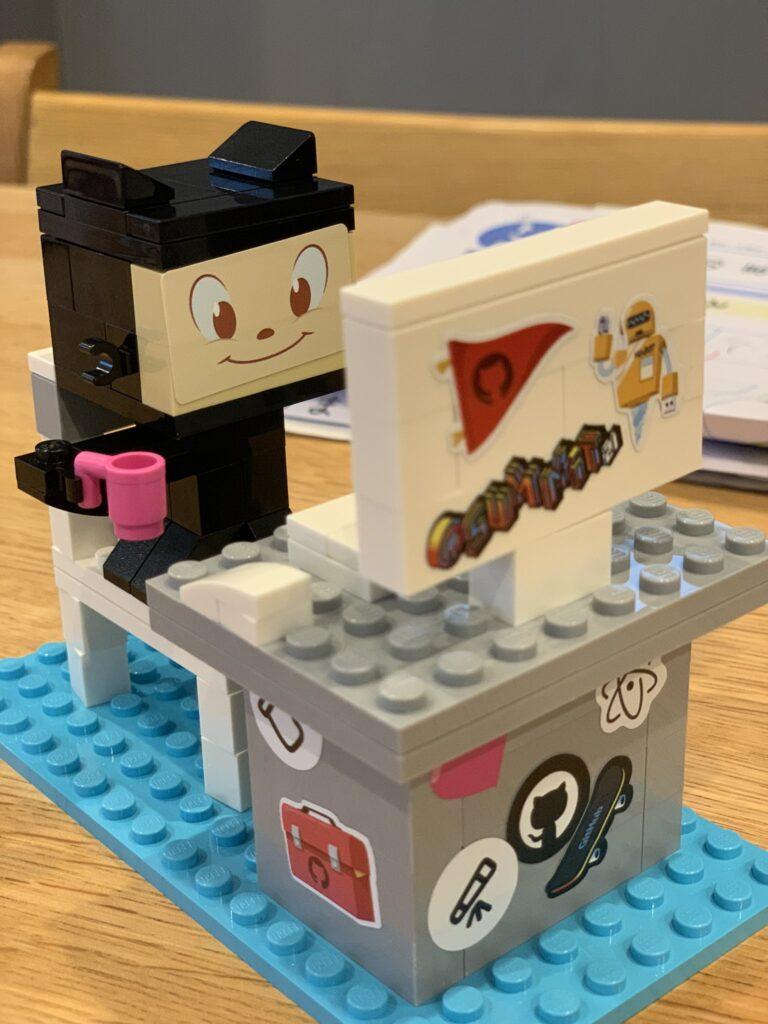 Собранный набор Lego Developer_1