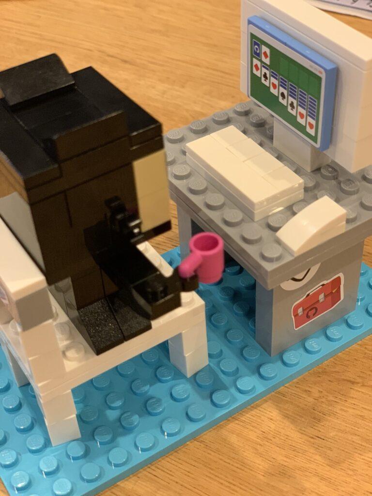 Собранный набор Lego Developer_2