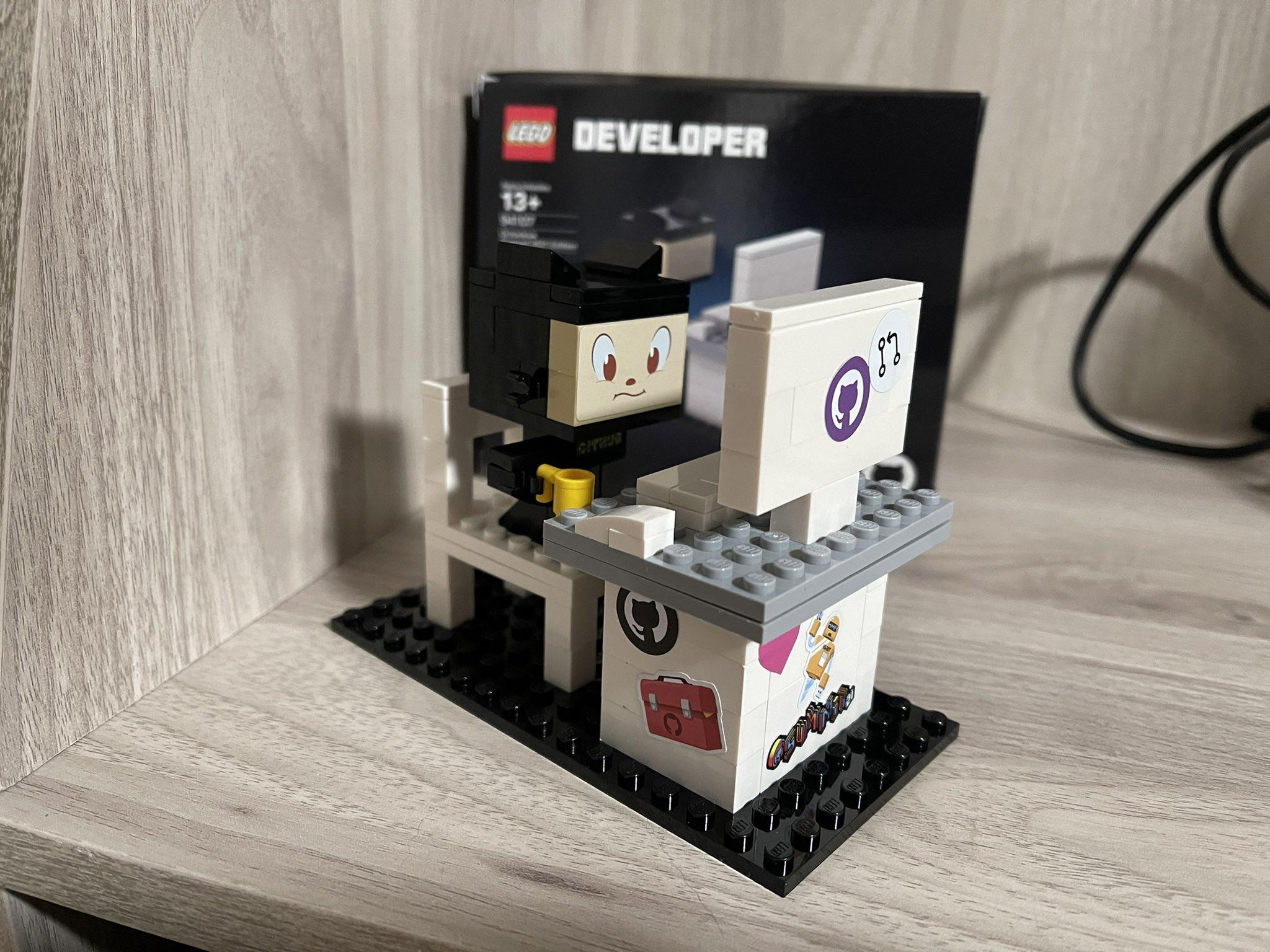 Собранный набор Lego Developer_3
