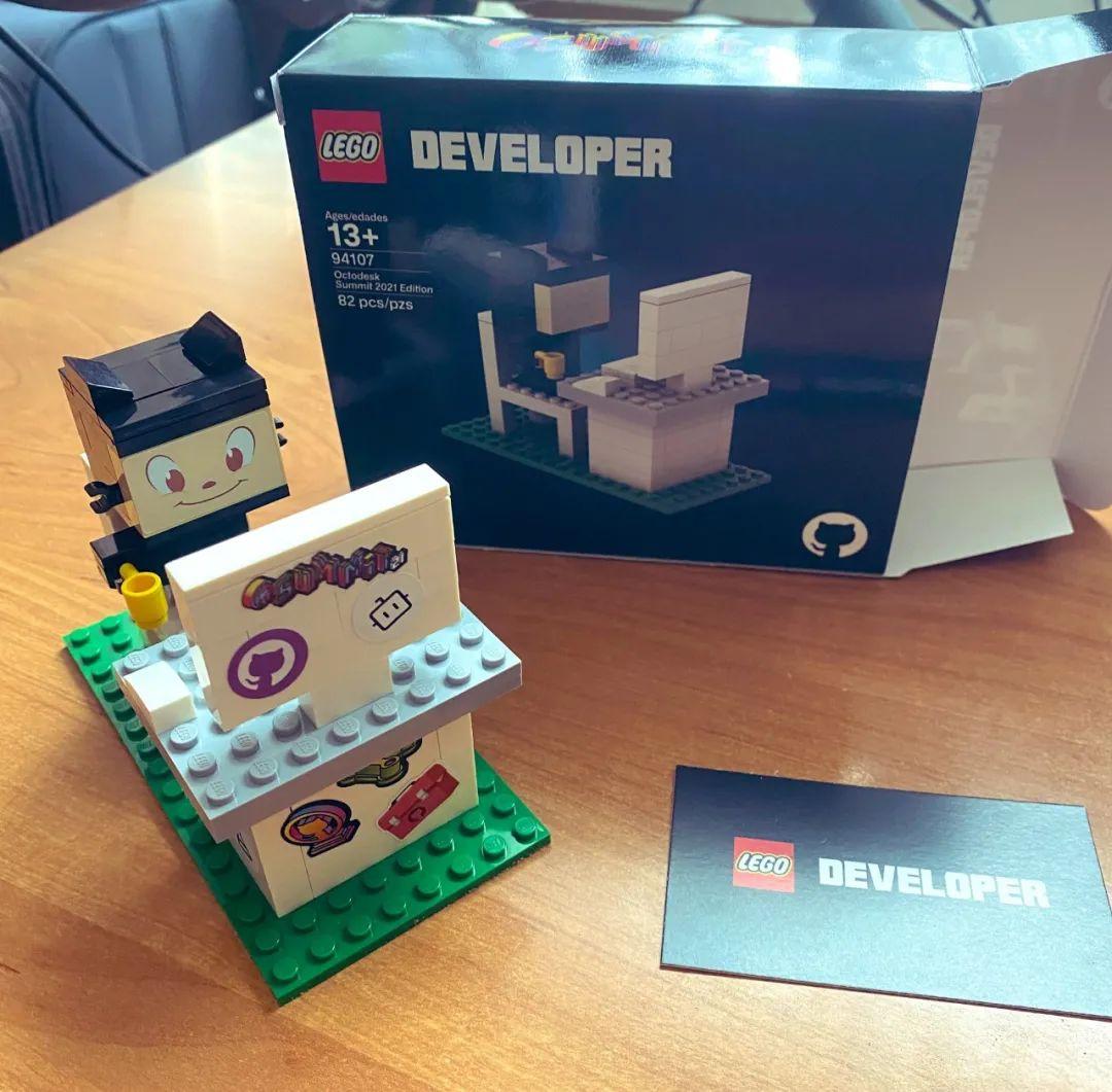 Собранный набор Lego Developer_4