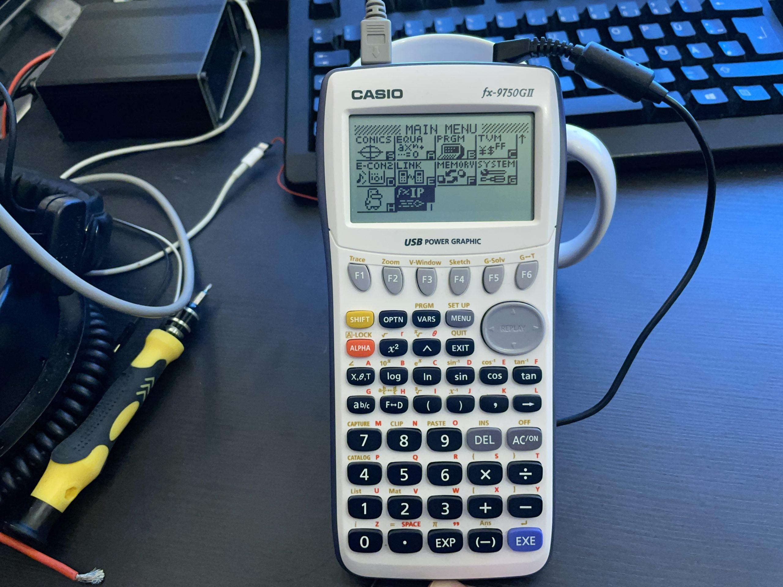 Запуск веб-сервера на калькуляторе_1
