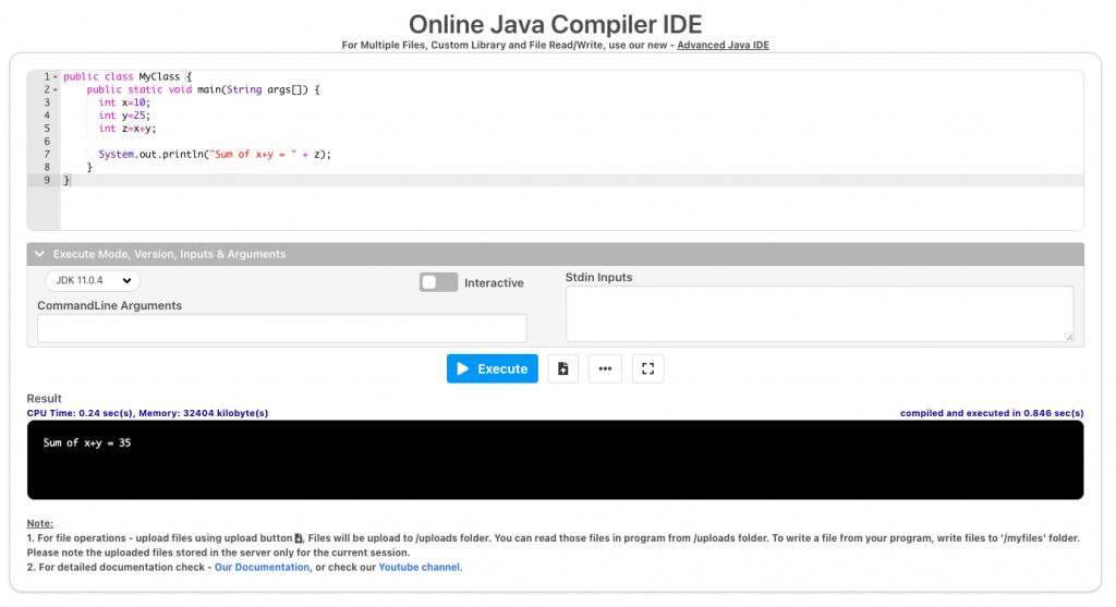 Мультиязычный онлайн-компилятор JDOODLE