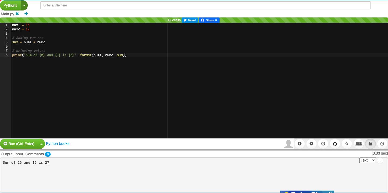 Онлайн-компилятор Paiza.io