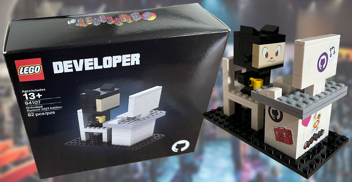 Набор Lego Developer Octodesk Summit 2021 Edition