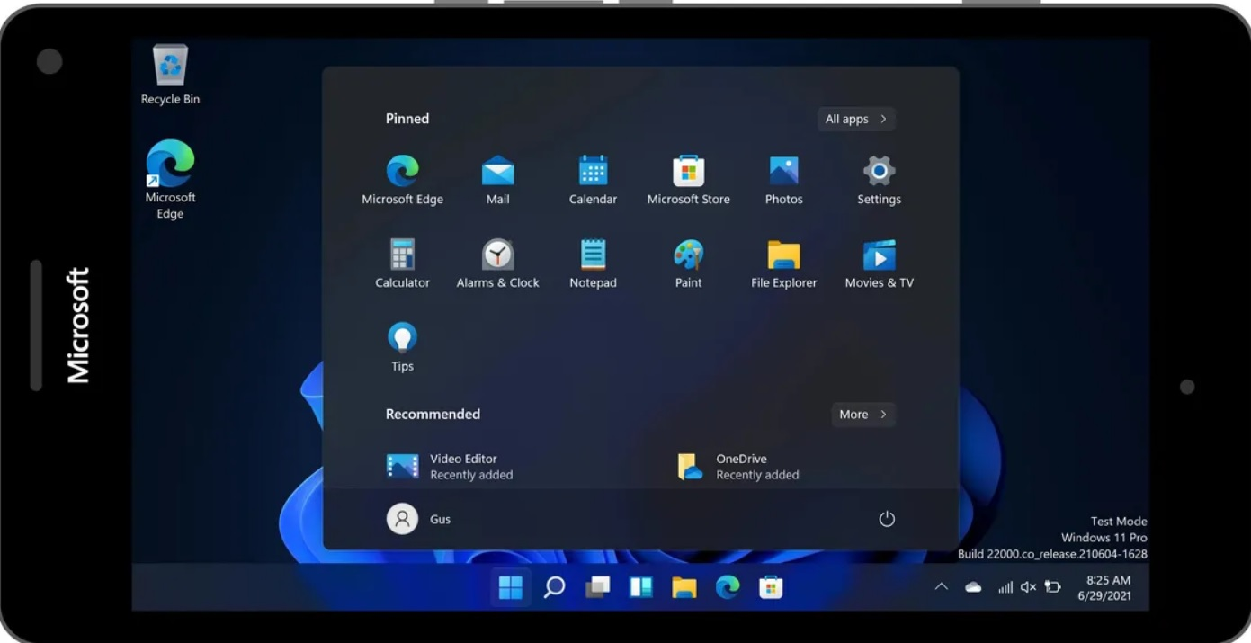 Windows 11 на Lumia 950 XL