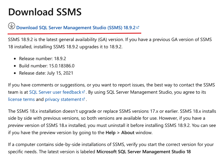 Скачайте SQL Server Management Studio