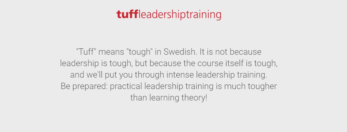 Определение tuff leadership на сайте коуча Веры Будян. Дмитрий Олареско проходил у Веры несколько тренингов для лучшего понимания концепции