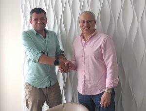 Сооснователь Creators Media Group Тимур Ворона и основатель ITC.UA Сергей Арабаджи