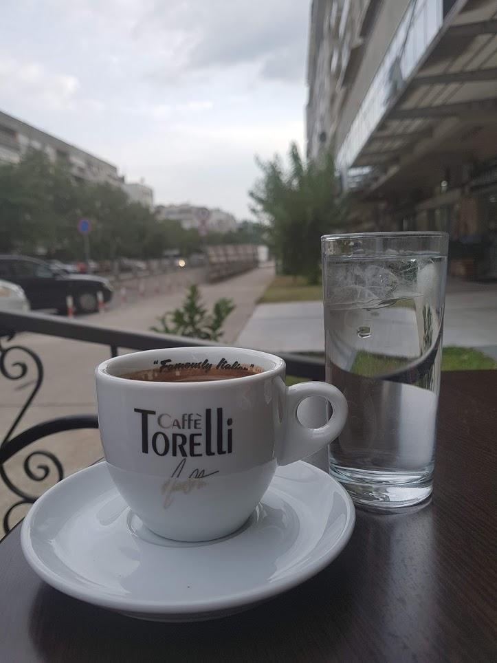 Кофе в Подгорице