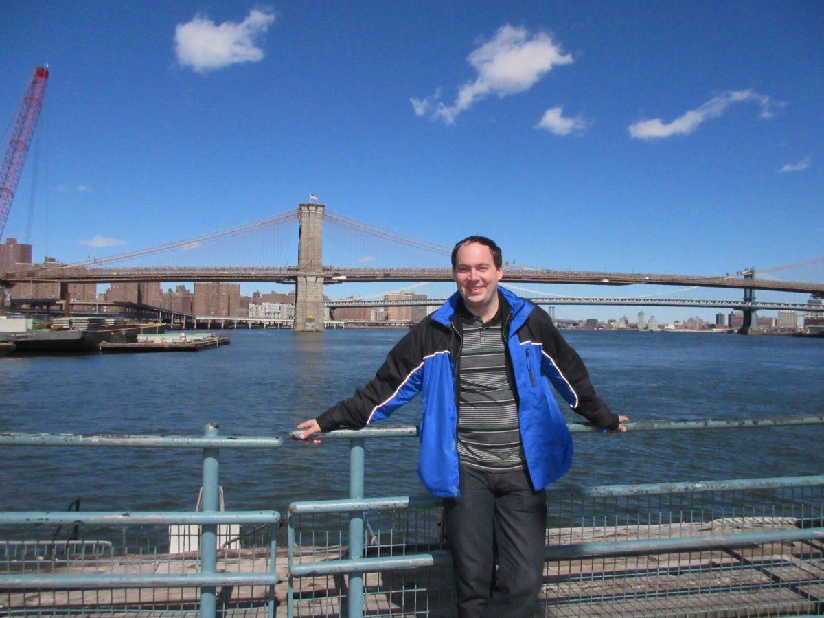 Юрий Лопотун в Нью-Йорке