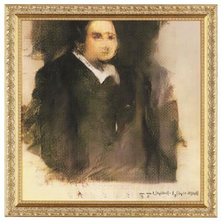 Edmond de Belamy, from La Famille de Belamy Картина, сгенерированная нейросетью и проданная за $432 500