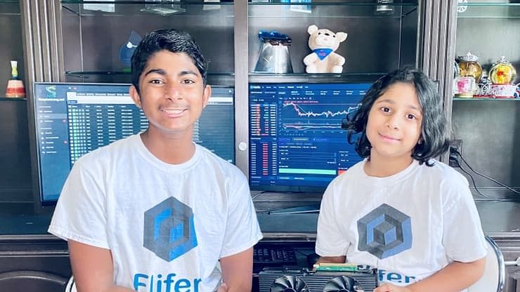 Школьники-основатели компании Flifer Technologies