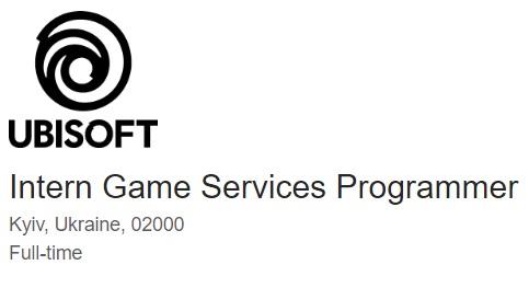 Intern Game Services Programmer