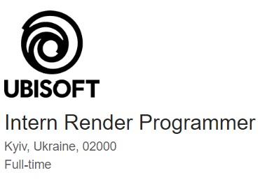 Intern Render Programmer