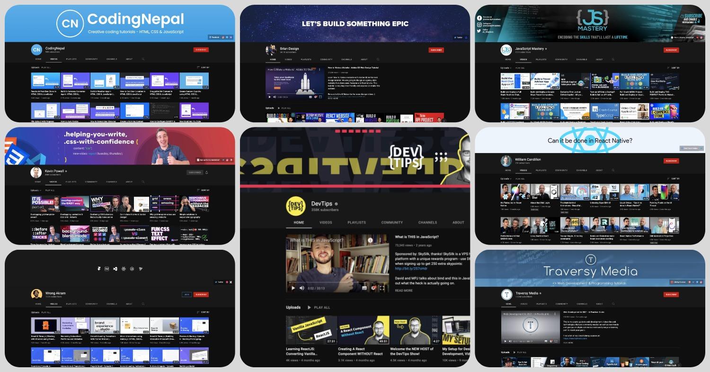 YouTube-каналы для разработчиков