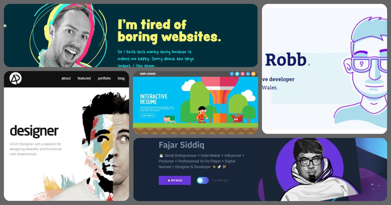 10 примеров портфолио для разработчиков