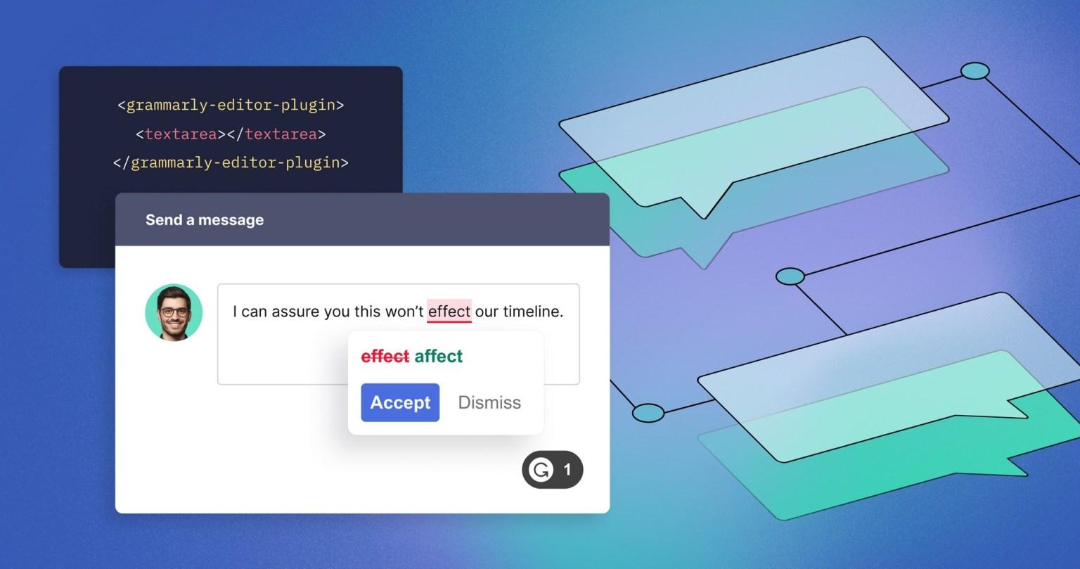 Интерфейс Grammarly for Developers