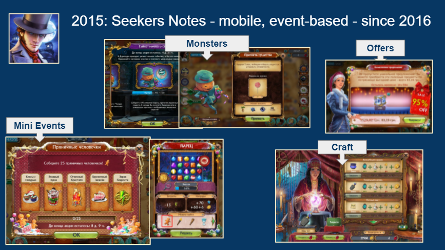 Seekers Notes