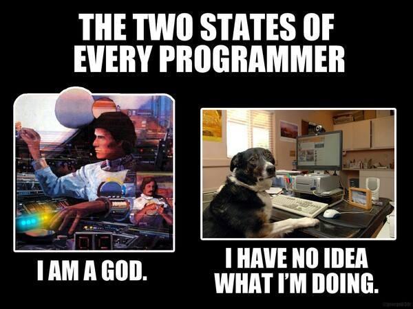«Два состояния каждого программиста»