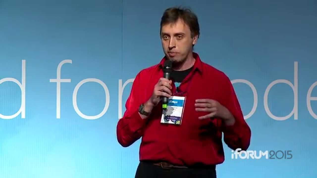 Алексей Мась на iForum-2015