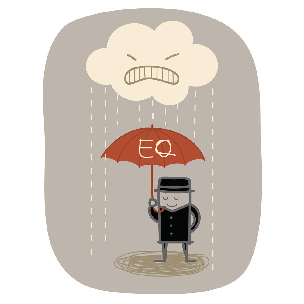 Высокий уровень EQ означает, что человек понимает свои и чужие эмоции и поэтому может справиться с ними / Depositphotos