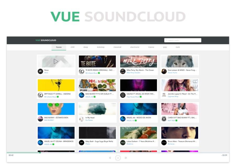 Клиент Soundcloud
