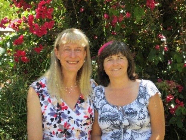 Мэри Энн и ее партнерша Источник: https://www.nokia.com/about-us/careers/life-at-nokia/employee-blogs/the-story-of-mary-ann-horton/
