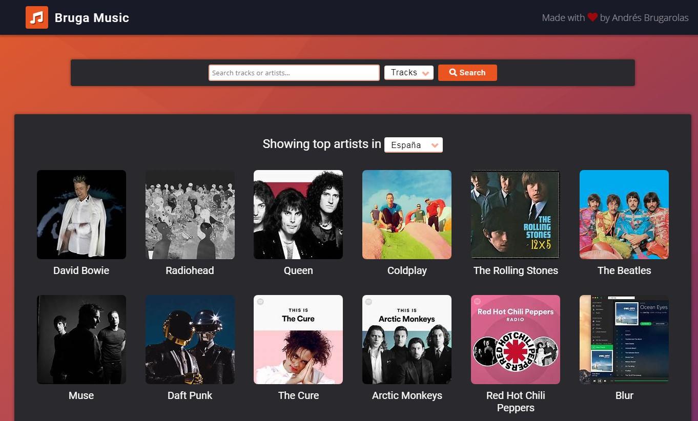 Музыкальное приложение