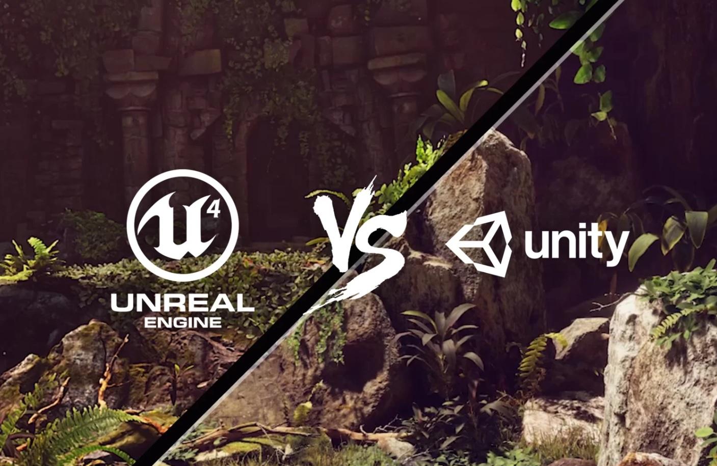 Разница между Unity и Unreal