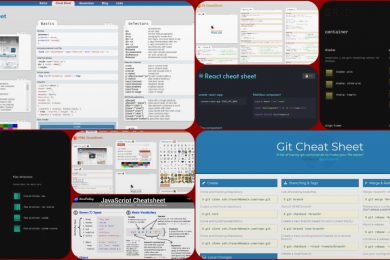 8 шпаргалок с примерами кода для веб-разработчика