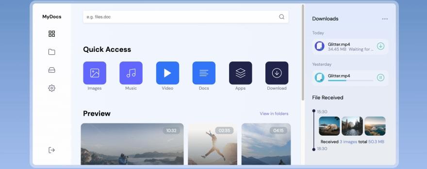Веб-приложение для обмена файлами