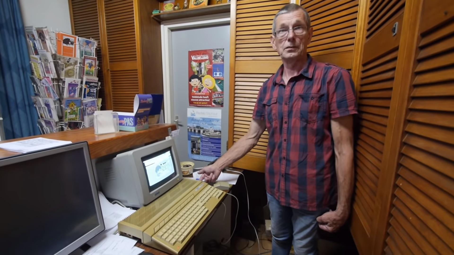 Франс Бош и Atari ST