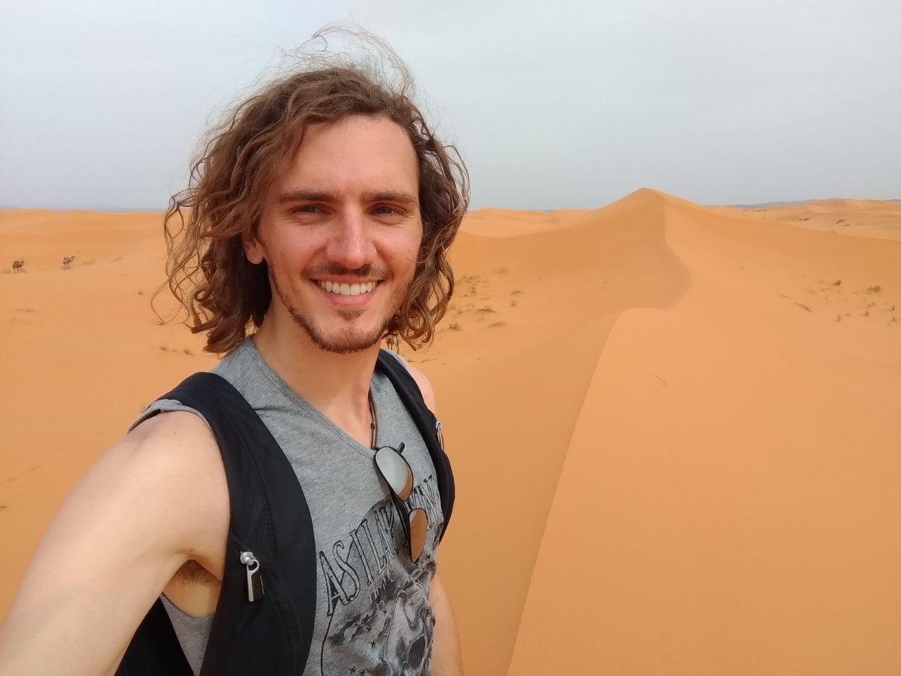 Matt, the world traveler